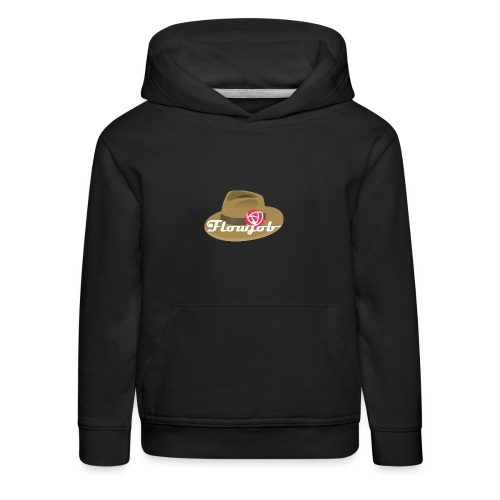 Flowjob Logo - Kids' Premium Hoodie