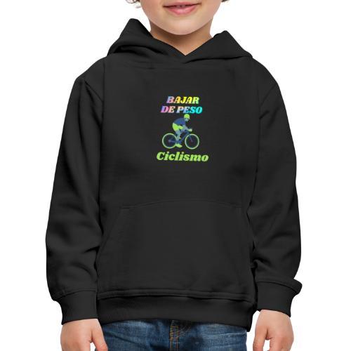 Ciclismo para perder peso - Sudadera con capucha premium niño