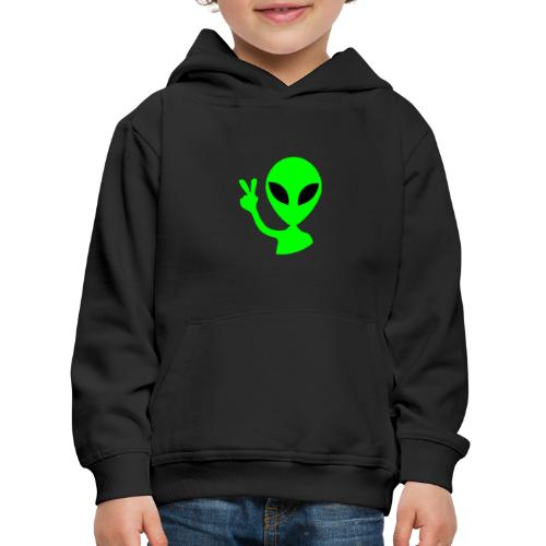 Peace out Alien - Kids' Premium Hoodie