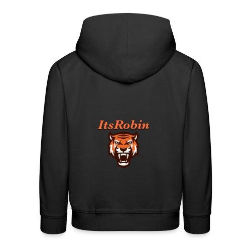 ItsRobin nieuw logo - Kinderen trui Premium met capuchon