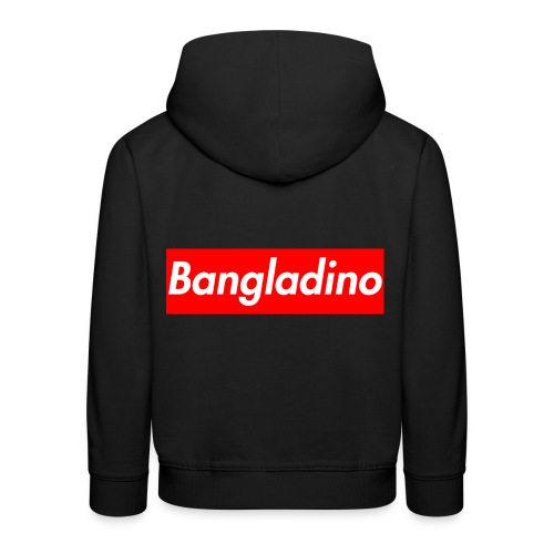 Bangladino - Felpa con cappuccio Premium per bambini