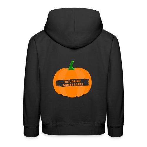 Halloween Pumpkin Shirt for Halloween - Kids' Premium Hoodie