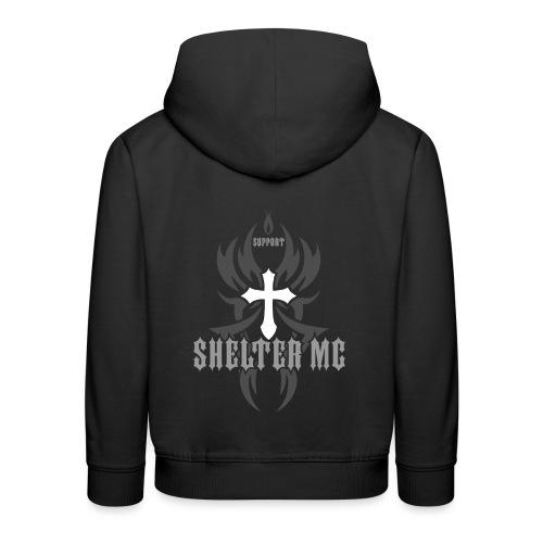 Support Shelter MC - Premium Barne-hettegenser