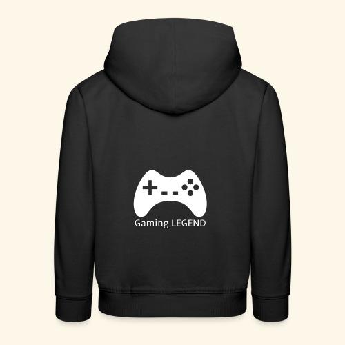 Gaming LEGEND - Kinderen trui Premium met capuchon