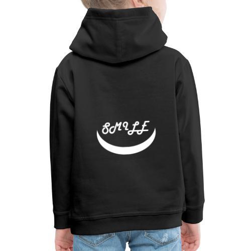 Black Smile - Pull à capuche Premium Enfant