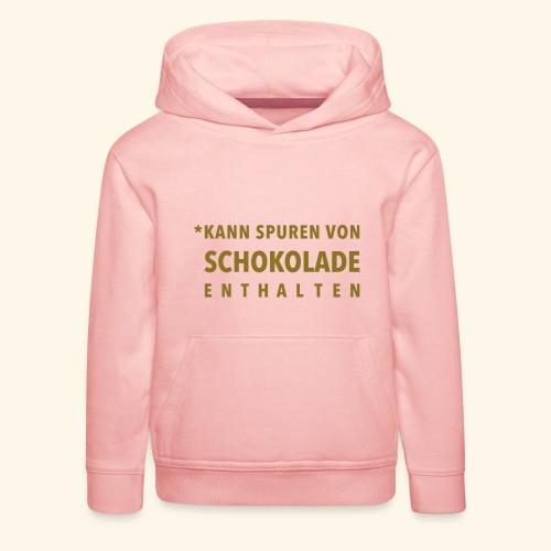 Schokoliebe - Kinder Premium Hoodie