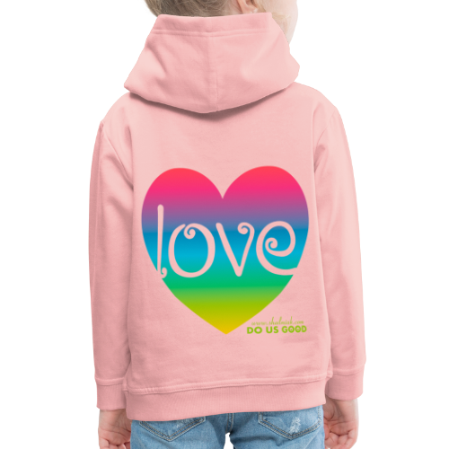 LOVE - Lasten premium huppari