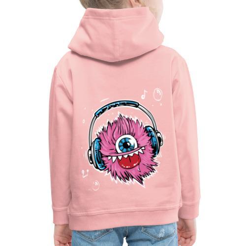 pink monster - Kinder Premium Hoodie