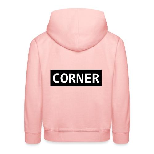 Corner - Premium hættetrøje til børn