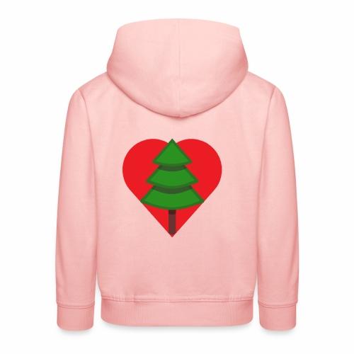 Luv trees! - Kids' Premium Hoodie