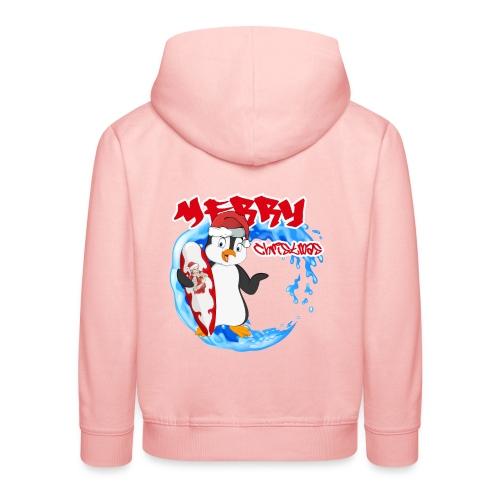 Pinguin Weihnachten - Kinder Premium Hoodie