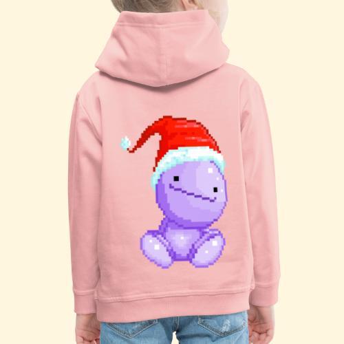 Nohohon de Noël - Bonnet du Père Noël - Pull à capuche Premium Enfant