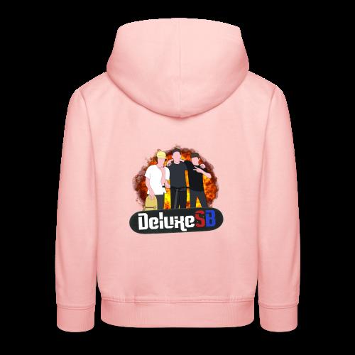 DeluxeSB Logo - Kinderen trui Premium met capuchon