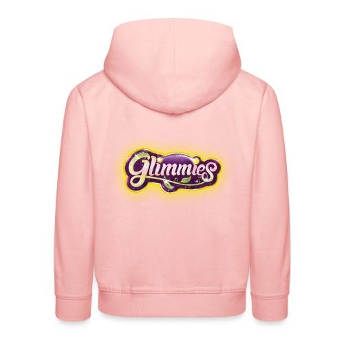 Glimmies Logo - Felpa con cappuccio Premium per bambini