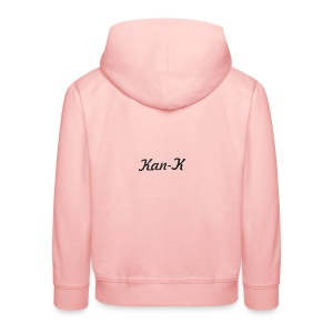 Kan-K text merch - Kids' Premium Hoodie