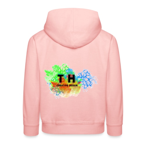TH CREATIV DESIGN LOGO - Kinder Premium Hoodie