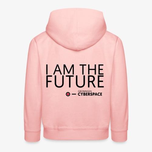 I am the future - Kinderen trui Premium met capuchon
