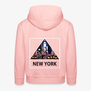 Triangle sur New York - Pull à capuche Premium Enfant