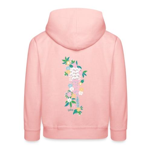 yuka cherry blossom2 - Kinder Premium Hoodie