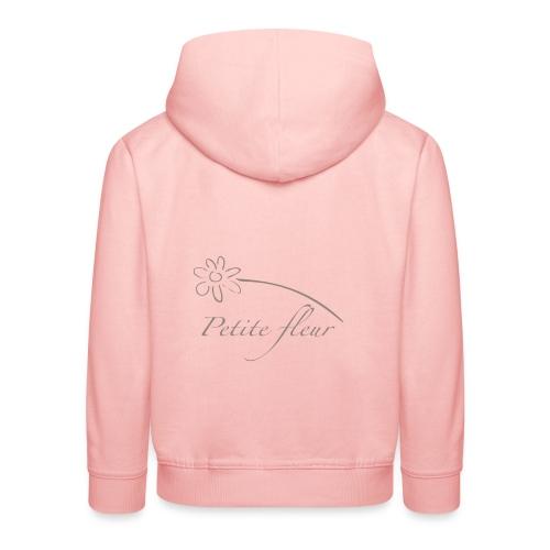 petite fleur - Pull à capuche Premium Enfant