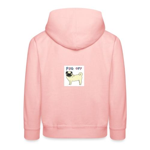 original pug shirt - Kids' Premium Hoodie