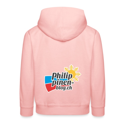 Das original Philippinen-Blog Logo - Kinder Premium Hoodie