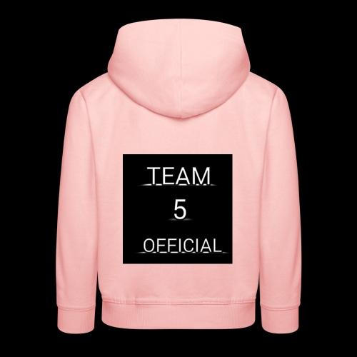 Team5 official 1st merchendise - Kids' Premium Hoodie