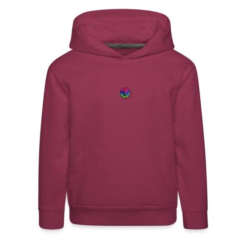 PixelColor - T-Shirt weiß - Kinder Premium Hoodie