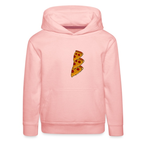 pizza - Premium hættetrøje til børn