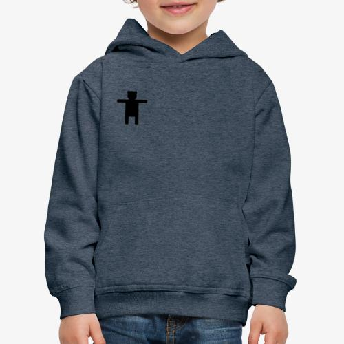 Epic Ippis Entertainment logo desing, black. - Kids' Premium Hoodie