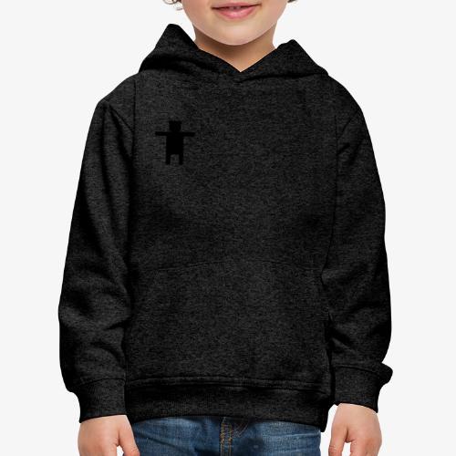 Epic Ippis Entertainment logo desing, black. - Kids' Premium Hoodie