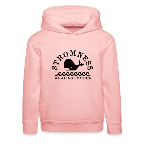 Sromness Whaling Station - Kids' Premium Hoodie