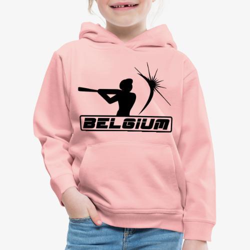 Belgium 2 - Pull à capuche Premium Enfant