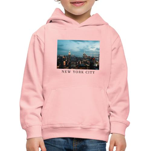 NEW YORK CITY, new york, new york photo, big city - Kids' Premium Hoodie
