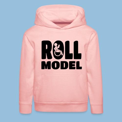 Roll model 016 - Kinderen trui Premium met capuchon