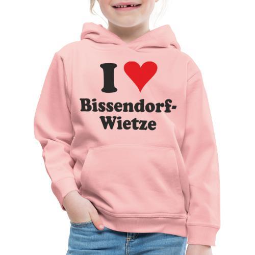 I Love Bissendorf-Wietze - Kinder Premium Hoodie