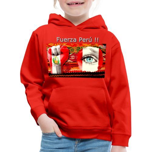 Telar Fuerza Peru I - Kids' Premium Hoodie