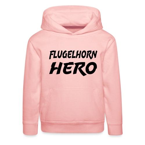 Flugelhorn Hero - Premium Barne-hettegenser