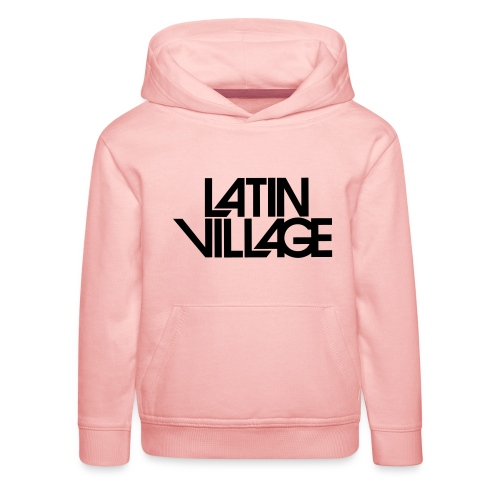 Logo Latin Village 30 - Kinderen trui Premium met capuchon