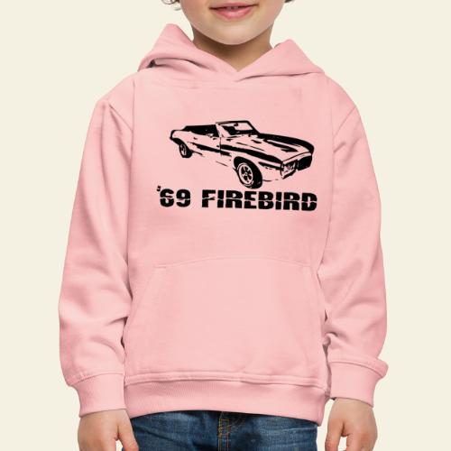 firebird small - Premium hættetrøje til børn