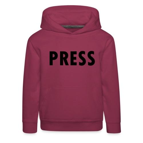 press - Kinder Premium Hoodie