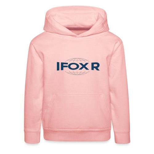 IFOX Logo - Premium-Luvtröja barn