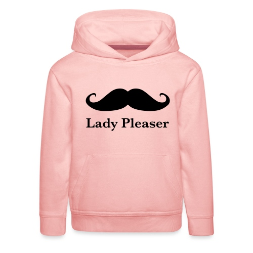 Lady Pleaser T-Shirt in Green - Kids' Premium Hoodie