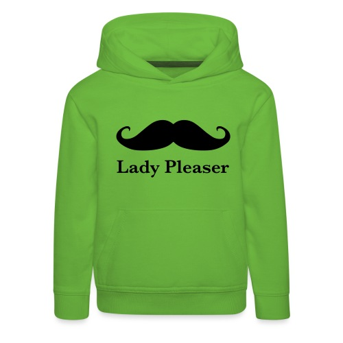 Lady Pleaser T-Shirt in Green - Kids' Premium Hoodie