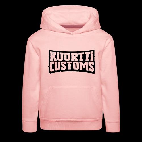 kuortti_customs_logo_main - Lasten premium huppari