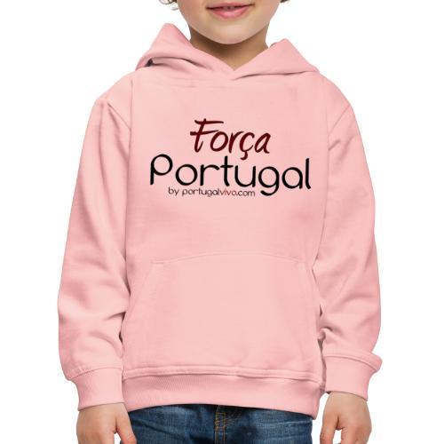 Força Portugal - Pull à capuche Premium Enfant