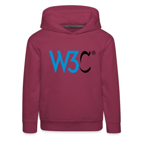 w3c - Kids' Premium Hoodie