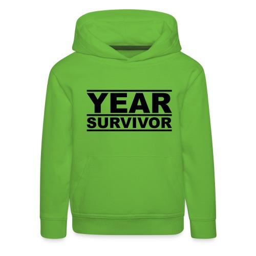 XX year survivor - Kids' Premium Hoodie