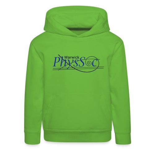 Official Warwick PhysSoc T Shirt - Kids' Premium Hoodie