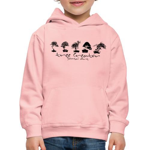 tree creator bonsa art horizon - Pull à capuche Premium Enfant